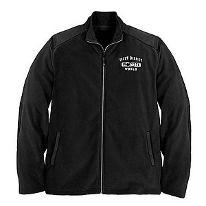 Disney ADULT Jacket - Mickey Mouse Black Fleece Disney World