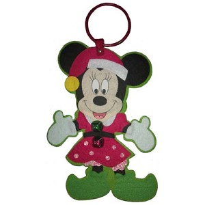 Disney Door Hanger - Christmas Minnie Mouse Elf