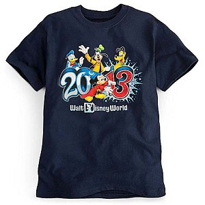 Disney CHILD Shirt - 2013 Mickey & Pals Walt Disney World - Navy