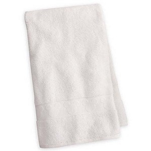 Disney Bath Towel - Mickey Mouse Icon Bath Towel - White