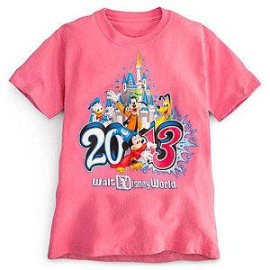 Disney ADULT Shirt - 2013 Walt Disney World - Pink