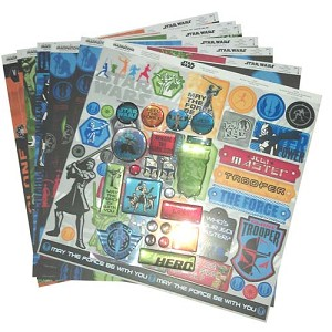 Disney World Scrapbooking Kit - Star Wars: the Clone Wars Collection