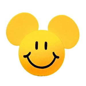 Your WDW Store Disney Antenna Topper Smiley Face Yellow