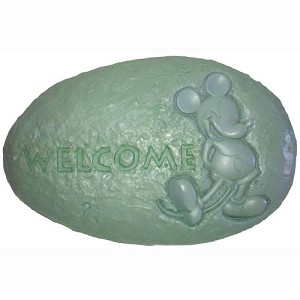 Disney Garden Stone - Flower and Garden - 2013 Mickey Mouse Welcome