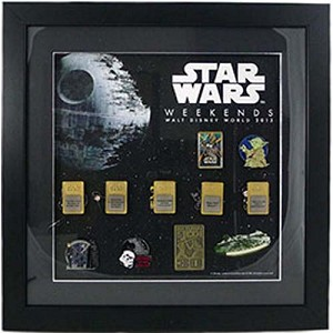 Disney Framed Pin Set - Star Wars Weekends 2013