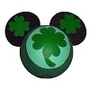 Disney Antenna Topper Ball - St. Patrick's Day Clovers