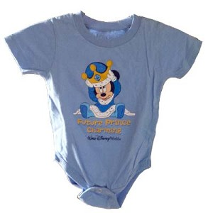 Disney Infant Bodysuit - Future Prince Charming Mickey Mouse