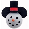 Disney Antenna Topper - Christmas -  Mickey Mouse - Snowman
