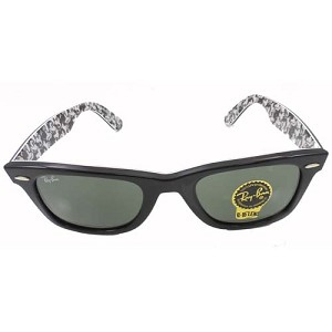 Disney Sunglasses - Rayban - Black and White Mickey Mouse - Interior