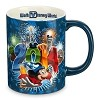 Disney Coffee Cup Mug - 2014 Sorcerer Mickey Park Icons