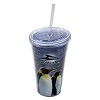Sea World Tumbler with Straw - Emperor Penguin