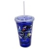 Sea World Tumbler with Straw - 50th Anniversary Logo