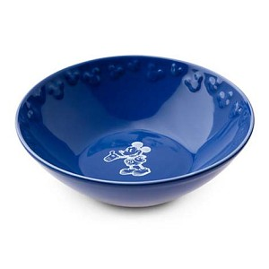Disney Bowl - Gourmet Mickey Mouse Icon - Blue with White