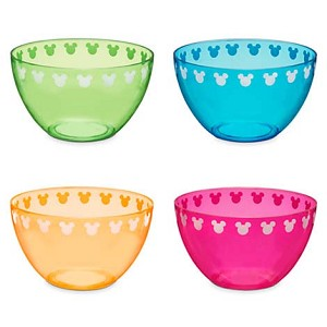 Disney Plastic Bowl Set - Color Fusion Mickey Mouse