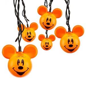 disney mickey ears icon lights halloween mickey pumpkins - Halloween Pumpkin Lights