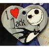 Disney Engraved ID Tag - Nightmare Before Christmas - I Love Jack