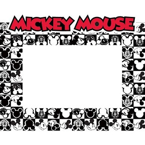 disney picture frame 4 x 6 mickey mouse checkers