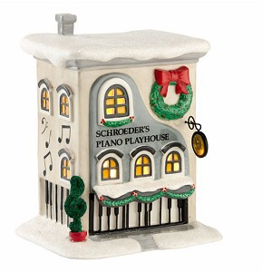 Peanuts Village - Schroeder's Piano Playhouse