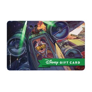 Disney Collectible Gift Card - Pilot Mickey & R2D2