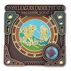 Disney Piece of WDW History Pin - #12 20,000 Leagues Under the Sea