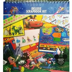 Disney World Deluxe Scrapbooking Kit - Icons Storybook at Night