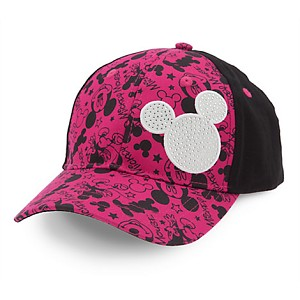 Disney Hat - Baseball Cap for Kids - Mickey Mouse Bling for Kids