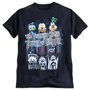 Disney Child Shirt - Tower of Terror - Shock Drop Trio