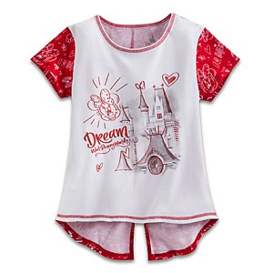 Disney CHILD Shirt - Minnie Mouse Dream Top for Girls
