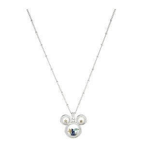 Disney Necklace - Sorcerer Mickey Mouse Charm Keeper 23''