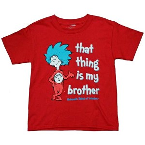 Universal Child's Shirt - Seuss Landing - That Thing is my Brother