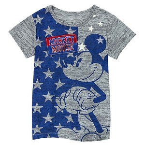 Disney Child Shirt - Classic Mickey Mouse Stars