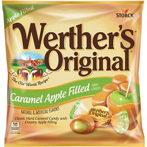 Disney Epcot Germany Hard Candies - Werthers Caramel Apple Filled