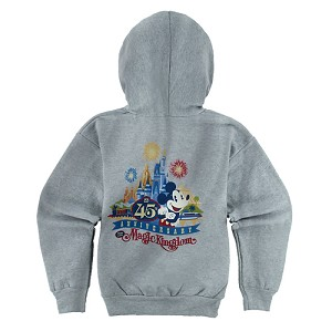 Disney Child Zip Hoodie - Magic Kingdom 45th Anniversary