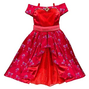 Disney Girls Costume - Elena of Avalor Princess Dress