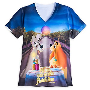 Your Wdw Store Disney Ladies Tee Shirt Lady The