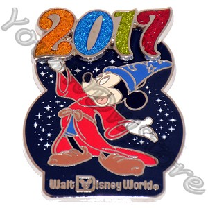Disney Annual Pin - 2017 Logo - Mickey Mouse