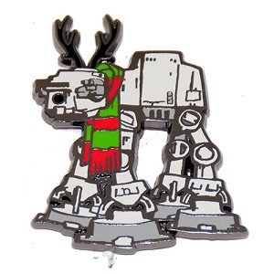 Disney Christmas Pin - Star Wars - At-At