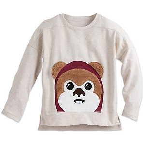 Disney CHILD Shirt - Ewok Long Sleeve Top for kids
