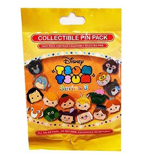 Disney Mystery Pin - Tsum Tsum - Series 3 - Complete 16 Pins