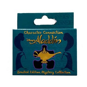 Disney Character Connection Pin - Aladdin Puzzle - Aladdin (CHASER)