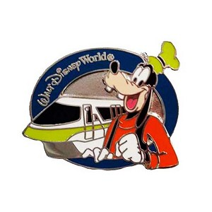 Disney Mystery Pins - Monorail Magic - Goofy