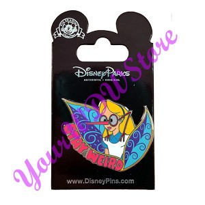 Disney Alice in Wonderland Pin - Stay Weird