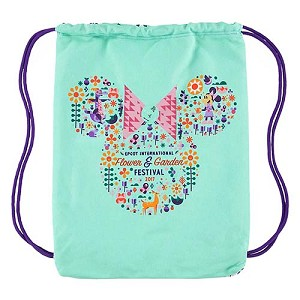 Disney Cinch Backpack - 2017 Epcot Flower and Garden Festival
