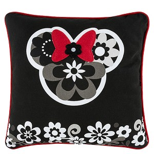 Disney Throw Pillow - Minnie Floral
