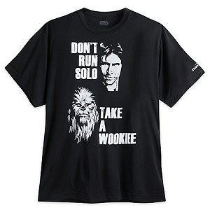 Disney ADULT Shirt - Han Solo & Chewbacca  runDisney Performance Tee