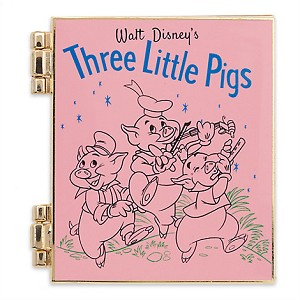 Disney Limited Release Pin - Three Little Pigs - April 2017