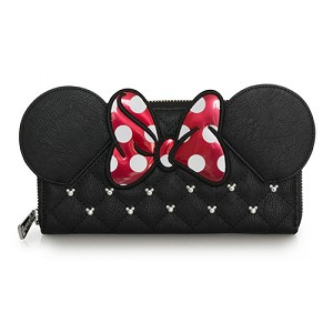 Disney Loungefly Wallet - Minnie Bow Quilted