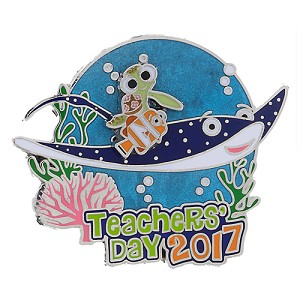 Disney Teachers Day Pin - 2017 Teachers' Day - Mr. Ray