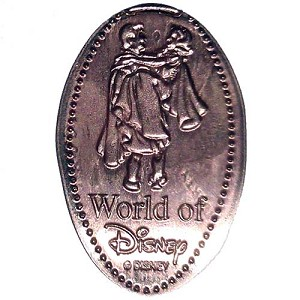 Disney Pressed Penny - World of Disney - Snow White & Prince