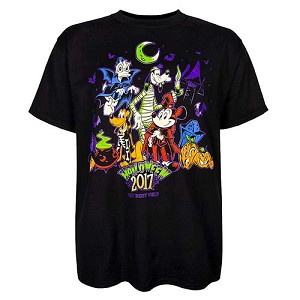 Disney ADULT Shirt - 2017 Mickey and Friends Halloween Tee